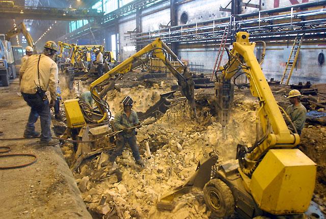 Steel Mill Demolition