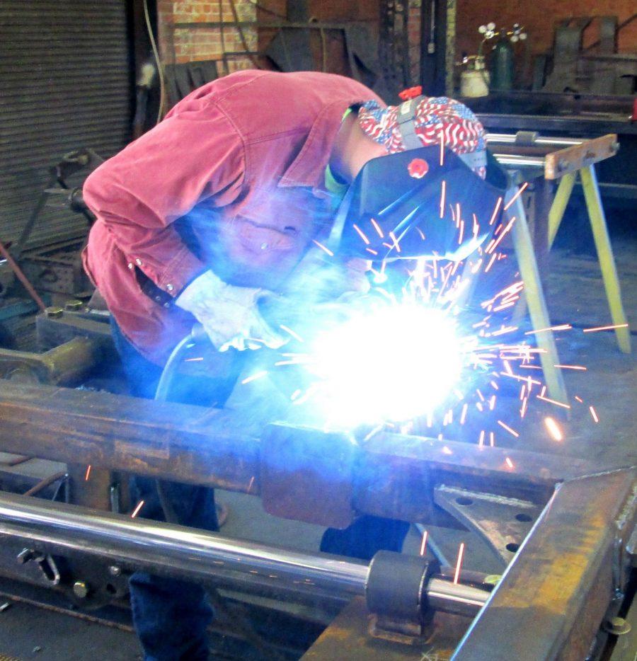 the machine shop welder